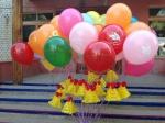 Воздушные шары на выпускной с колокольчиками