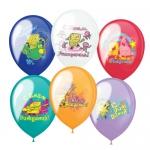 Воздушные шары с днем рождения Спанч Боб