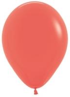 Воздушные шары с гелием кораловый