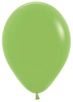 Воздушные шары с гелием лайм