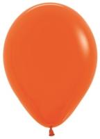Воздушные шары с гелием оранжевый