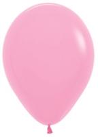 Воздушные шары с гелием розовый