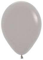 Воздушные шары с гелием серый