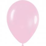 Воздушные шары с гелием светло розовый