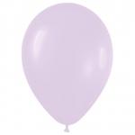 Воздушные шары с гелием светло сереневый