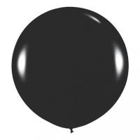 Большой шар с гелием черный