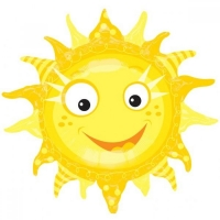 Шар фигура Солнышко