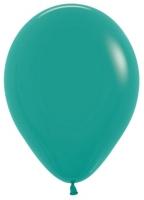 Воздушные шары с гелием бирюза зеленая