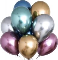 """Воздушные шары """"Хром"""" ассорти"""