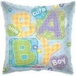 """Фольгированная подушка """"Baby boy"""""""