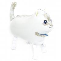 "Ходячий шар ""Кошечка"" белая"