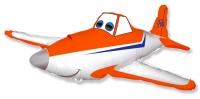 """Фольгированный шар """"Самолет гоночный"""""""