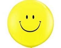 Большой шар с гелием Смайл