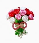 Букет роз из воздушных шаров