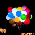 Светящиеся шары с гелием (вкл/выкл)
