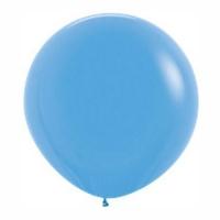 Большой шар с гелием голубой
