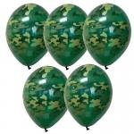 Воздушные шары камуфляжные