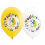 """Воздушные шары """"8 марта"""" 8цв"""
