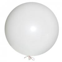 Большой шар с гелием белый